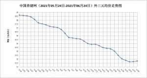 6月24日猪评:猪价连续两日上涨,或出现转机?